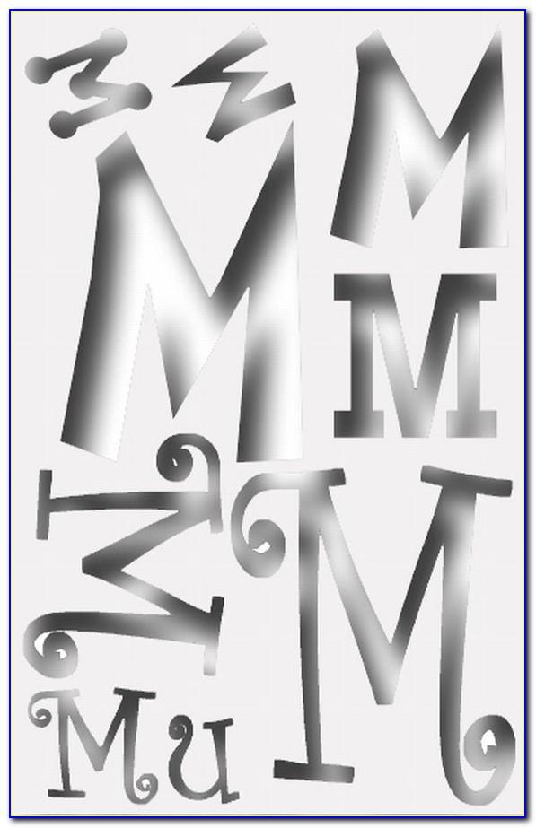 Phi Mu Letter Sweatshirt