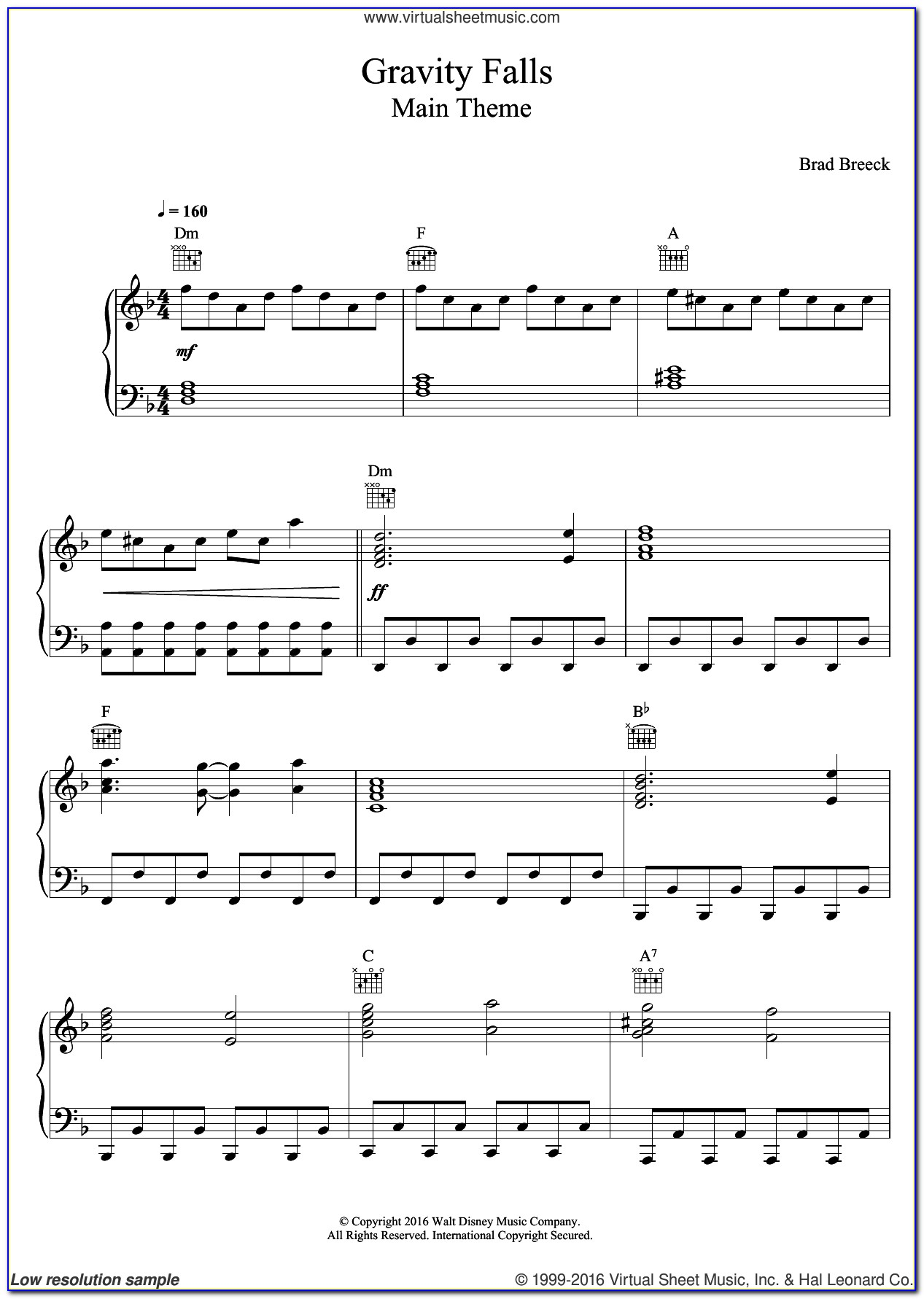 Piano Letter Notes Songs