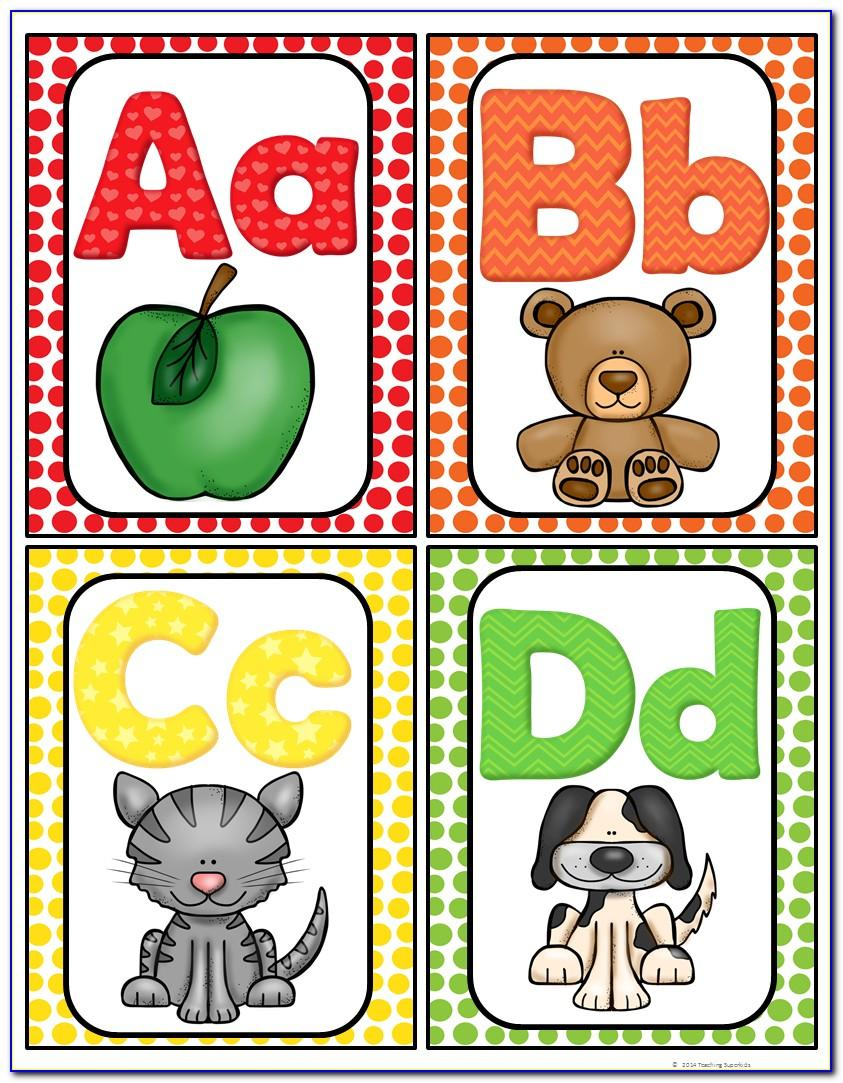 Printable Abc Letters For Wall