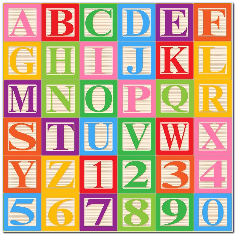 Printable Block Letters For Posters