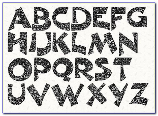 Printable Letter Stencils Free