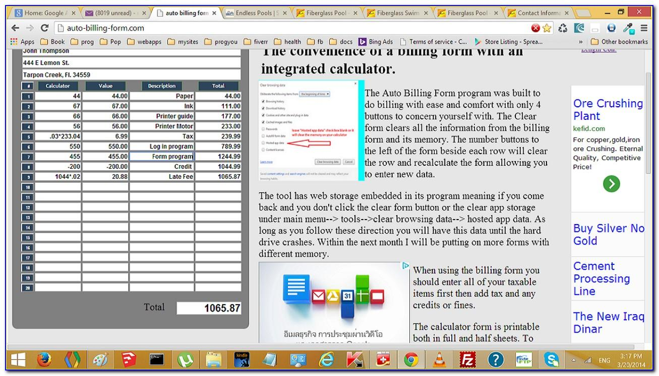 Quickbooks Customer Message On Invoice