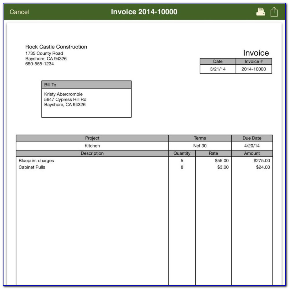 Quickbooks Enterprise Edit Invoice Template