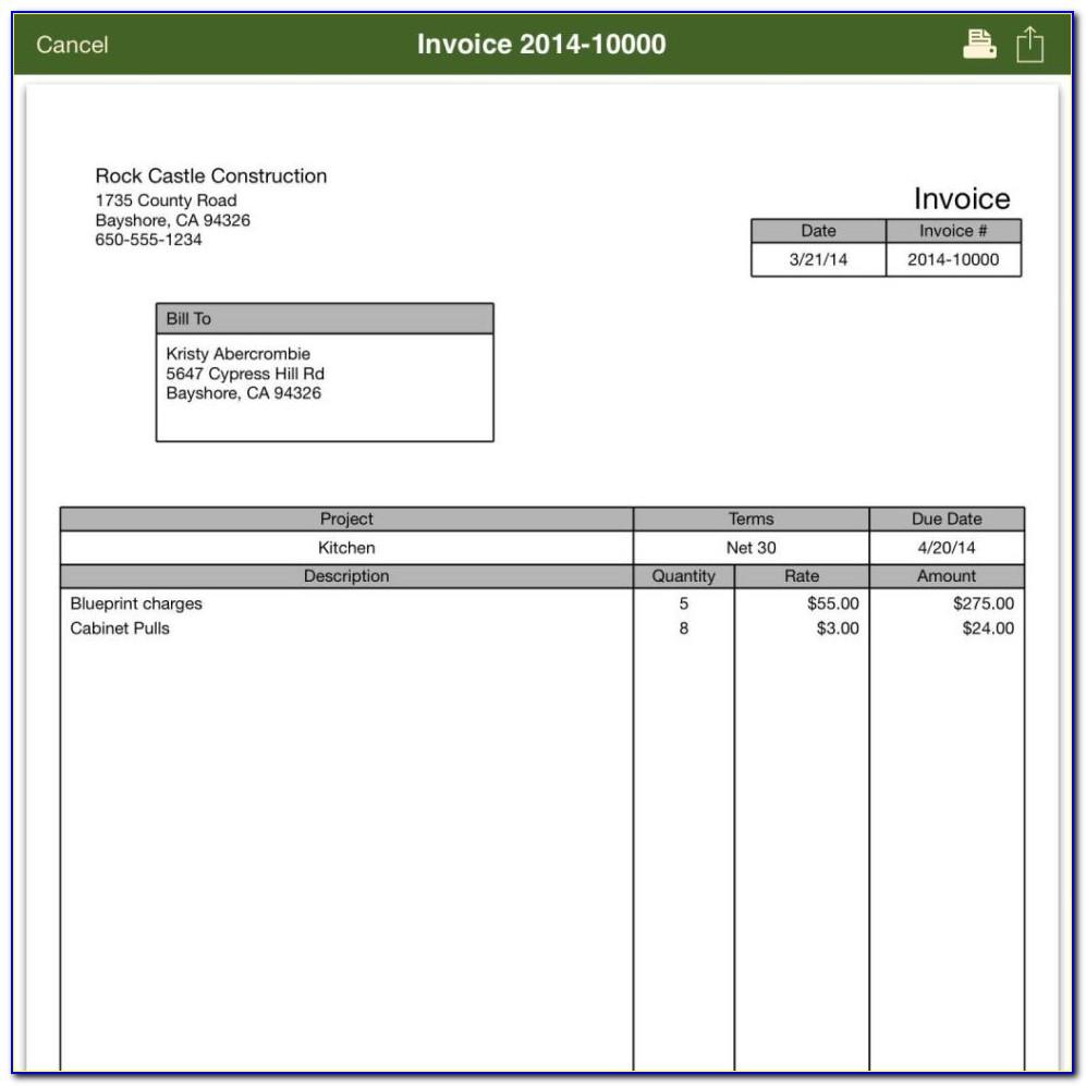 Quickbooks Enterprise Edit Invoice Template