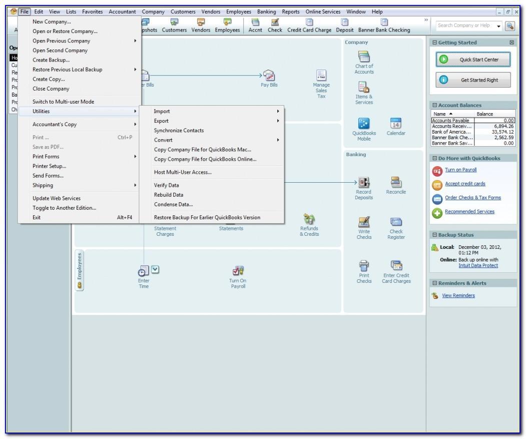Quickbooks Import Excel Invoice Template