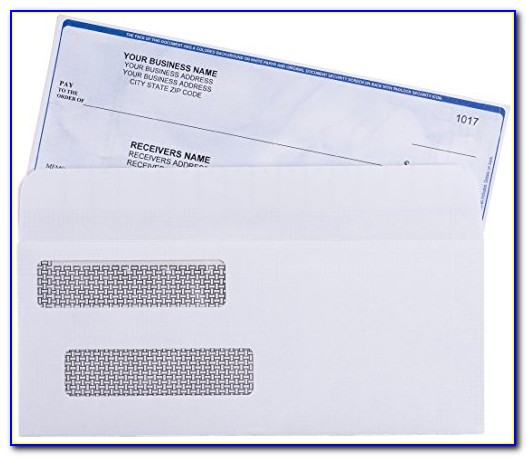 Quickbooks Invoice Envelopes Self Seal
