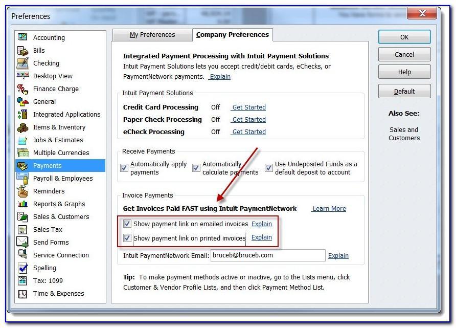 Quickbooks Online Import Invoice Template