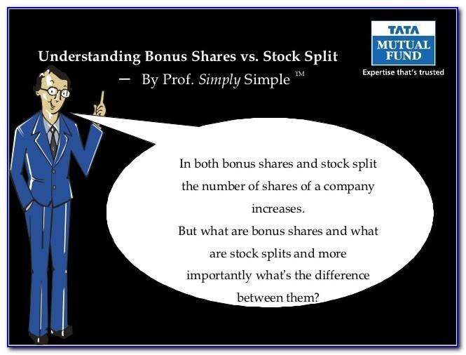 Recent Stock Split Announcements In India