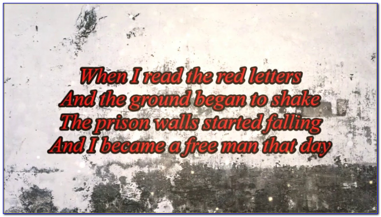Red Letters Crowder Lyrics Meaning