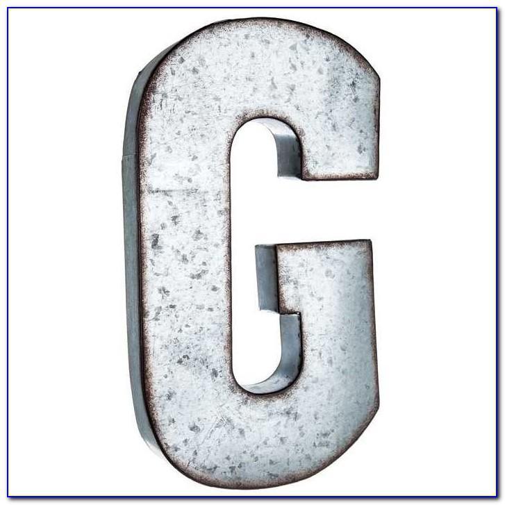 Rustic Metal Letters Michaels