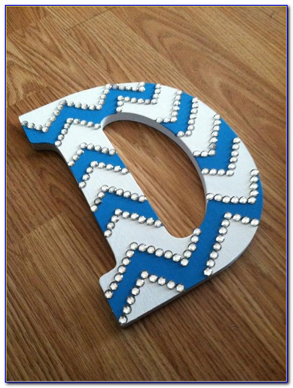 Rustic Wood Letter Decor