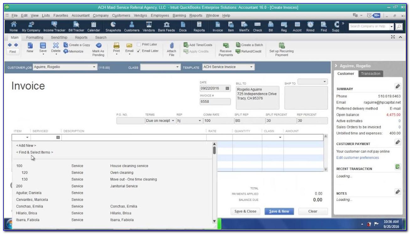 Sage 50 Invoice Scanning