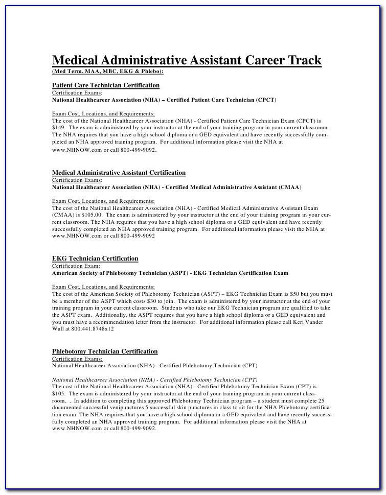 Sample Letter Of Recommendation For Medical Assistant Job