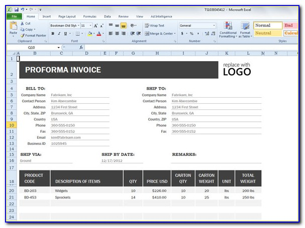 Sample Sop For Invoice Process