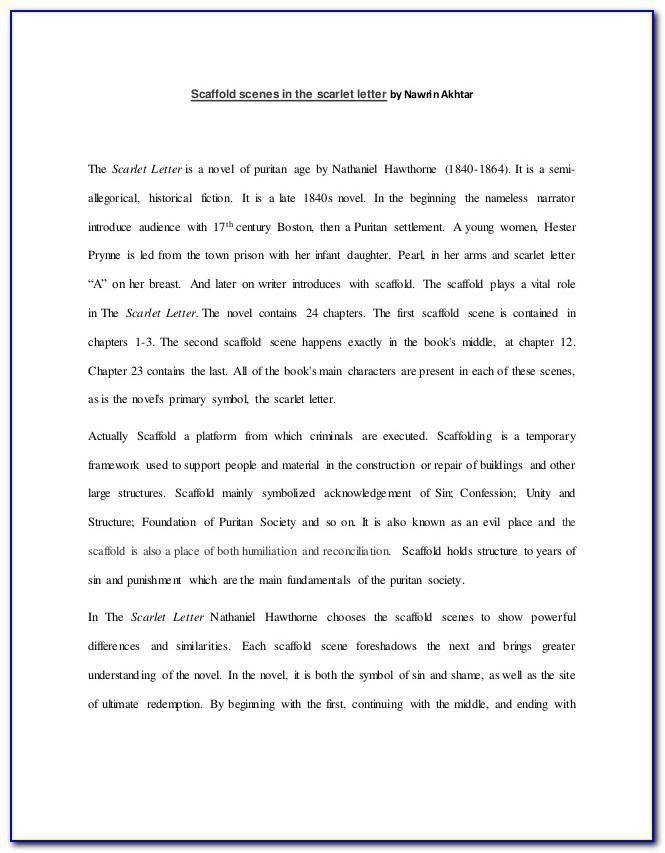 Scaffold Scene 1 Scarlet Letter