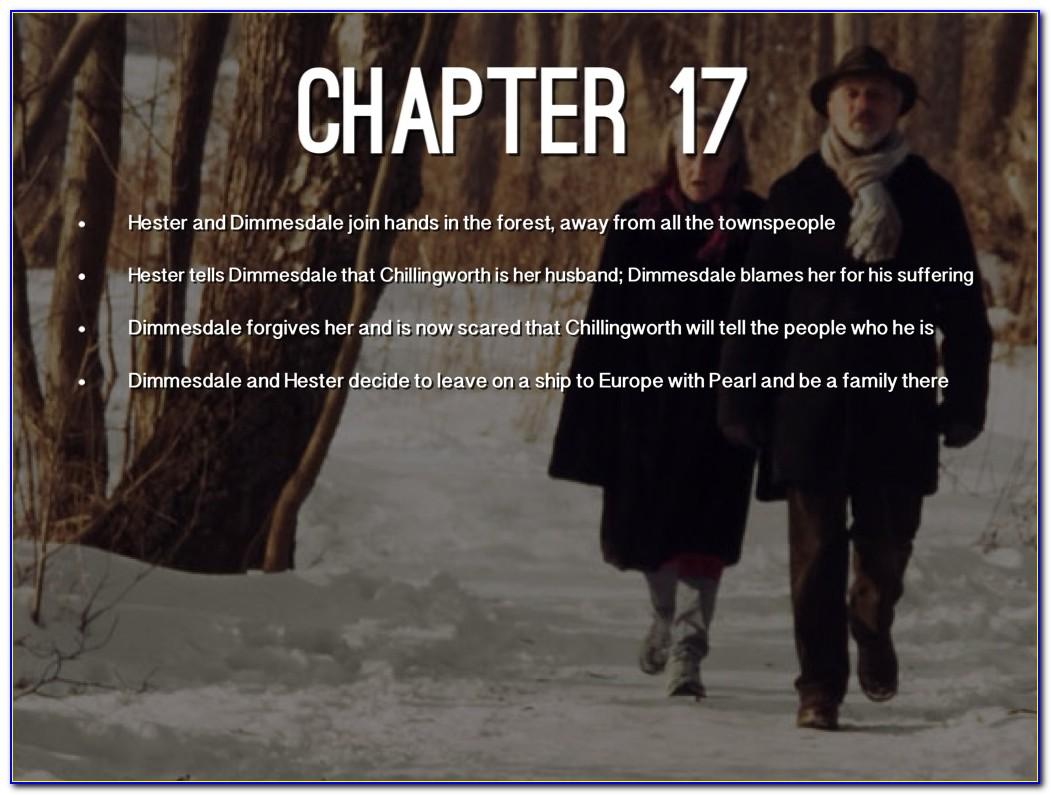 Scarlet Letter Chapter 13 Shmoop