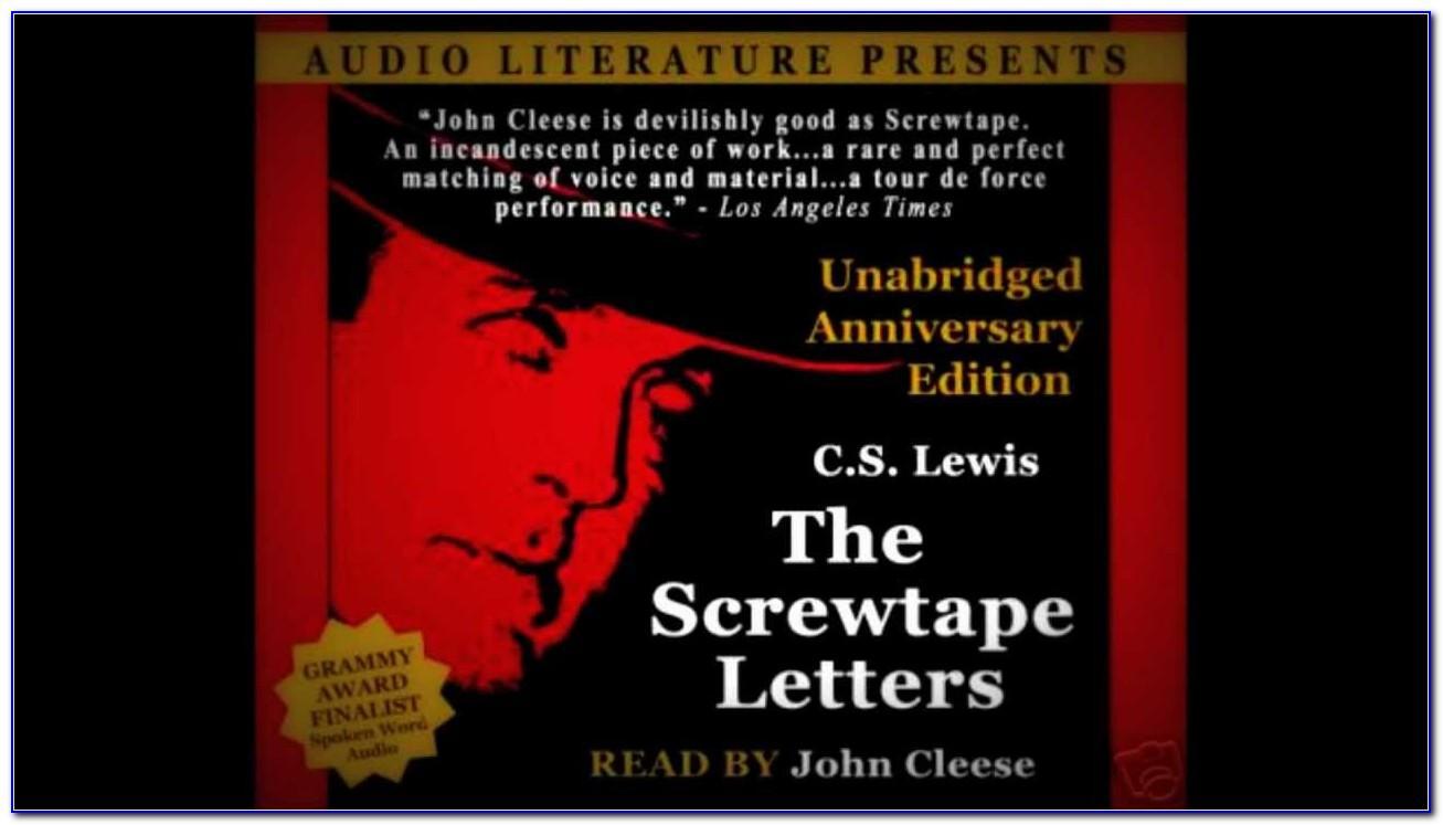 Screwtape Letters Audiobook Free