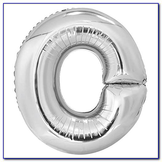Silver Letter Balloons Ebay