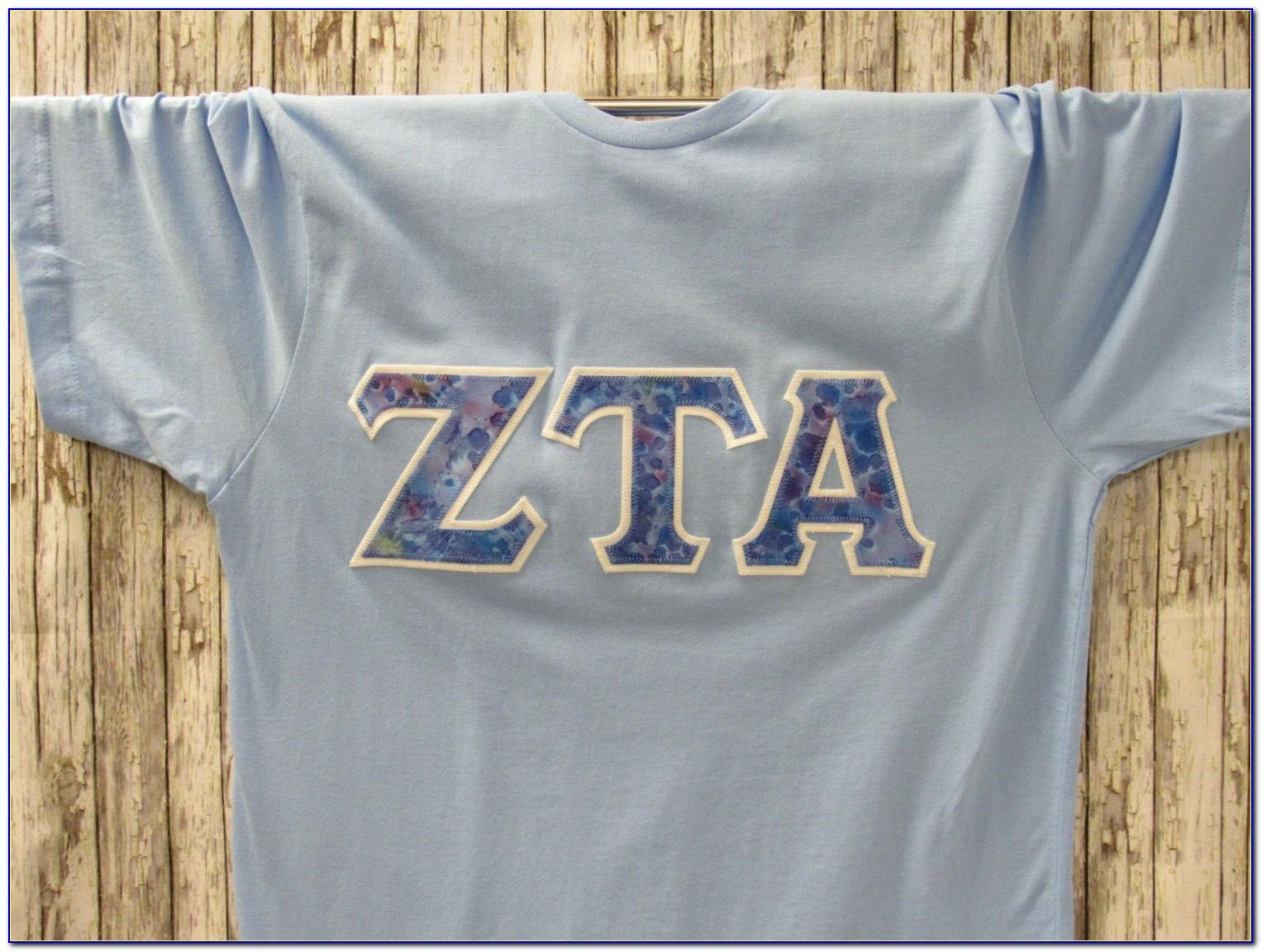 Sorority Greek Letter Shirts