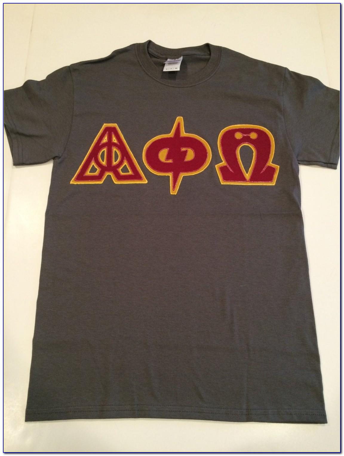 Sorority Letter Shirts Custom