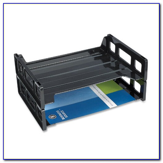 Stackable Letter Trays Front Loading