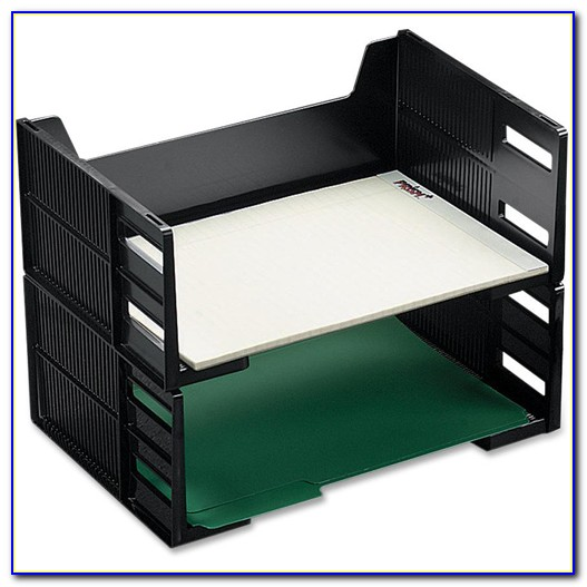 Stackable Letter Trays Side Loading