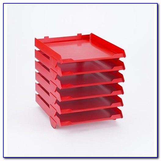 Stackable Letter Trays Staples