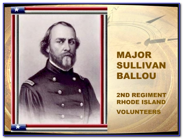 Sullivan Ballou Letter And Ashokan Farewell