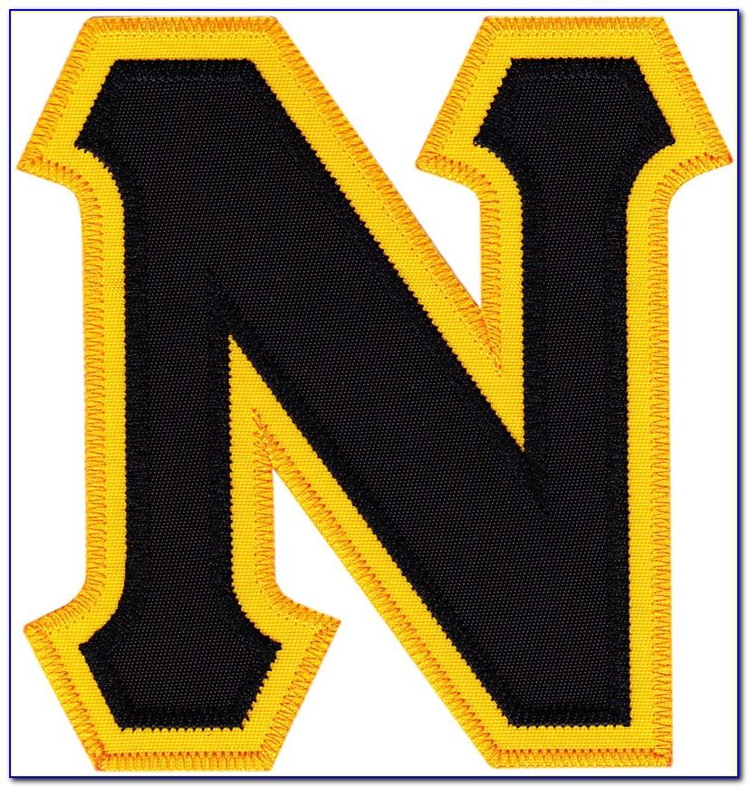 Tackle Twill Jersey Letters