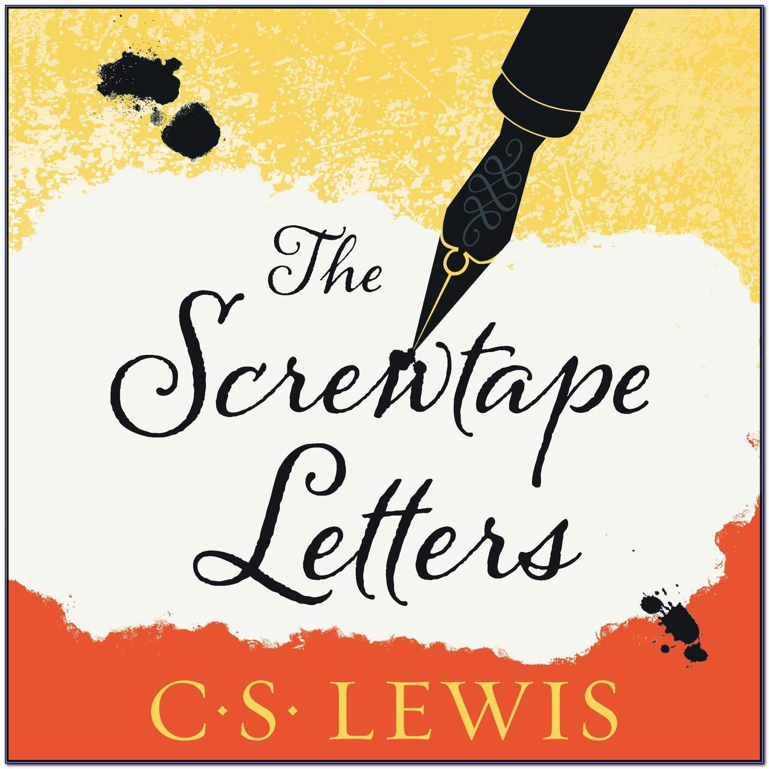 The Screwtape Letters Audiobook Free