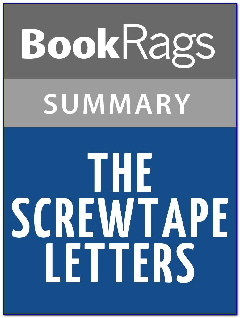 The Screwtape Letters Cs Lewis
