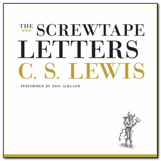 The Screwtape Letters Pdf Free Download