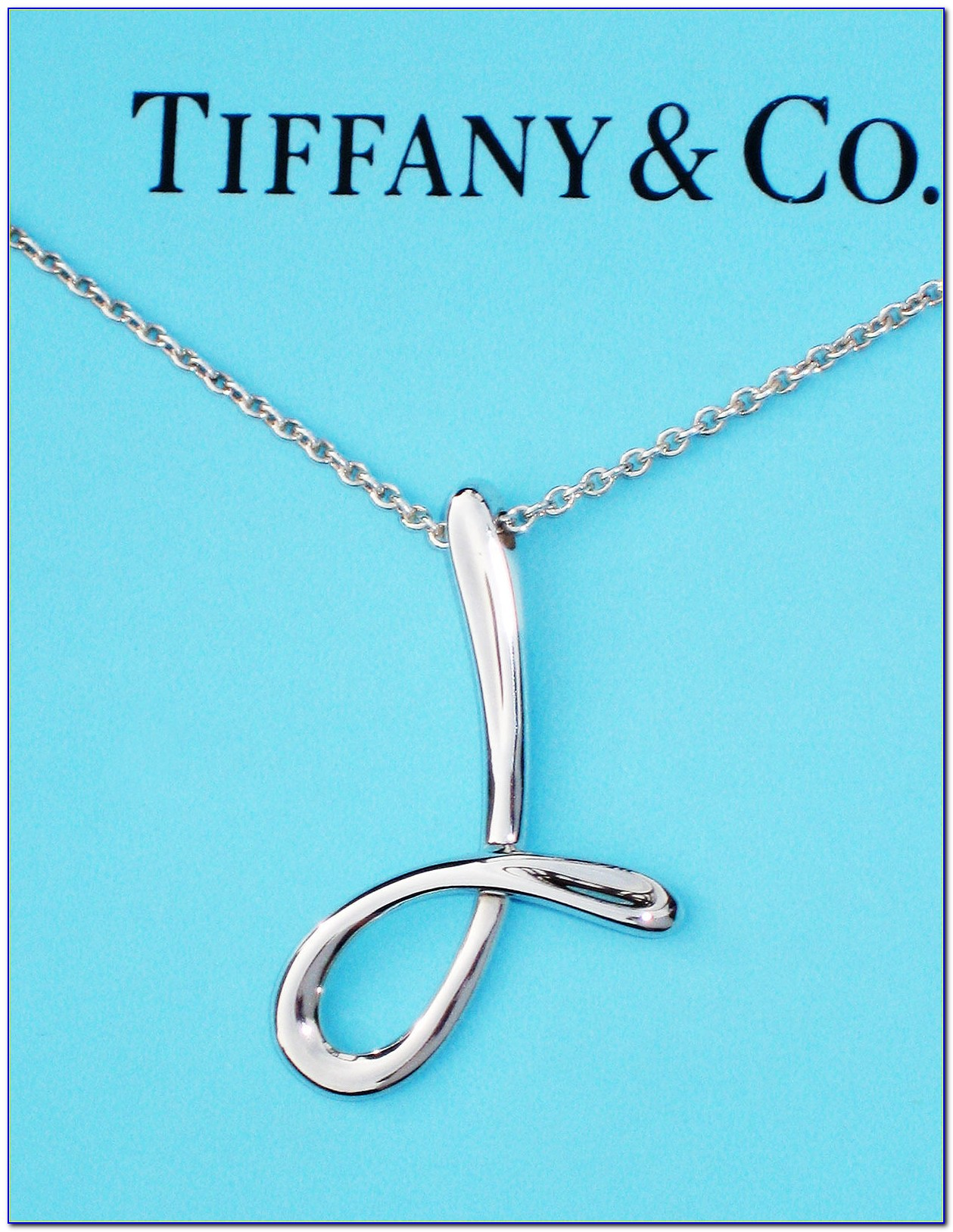 Tiffany Letter Necklace Chain