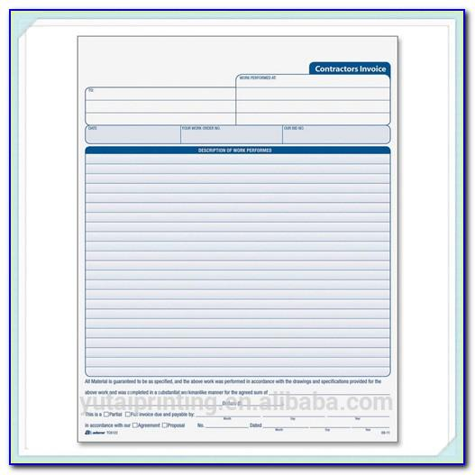 Triplicate Receipt Book Carbonless