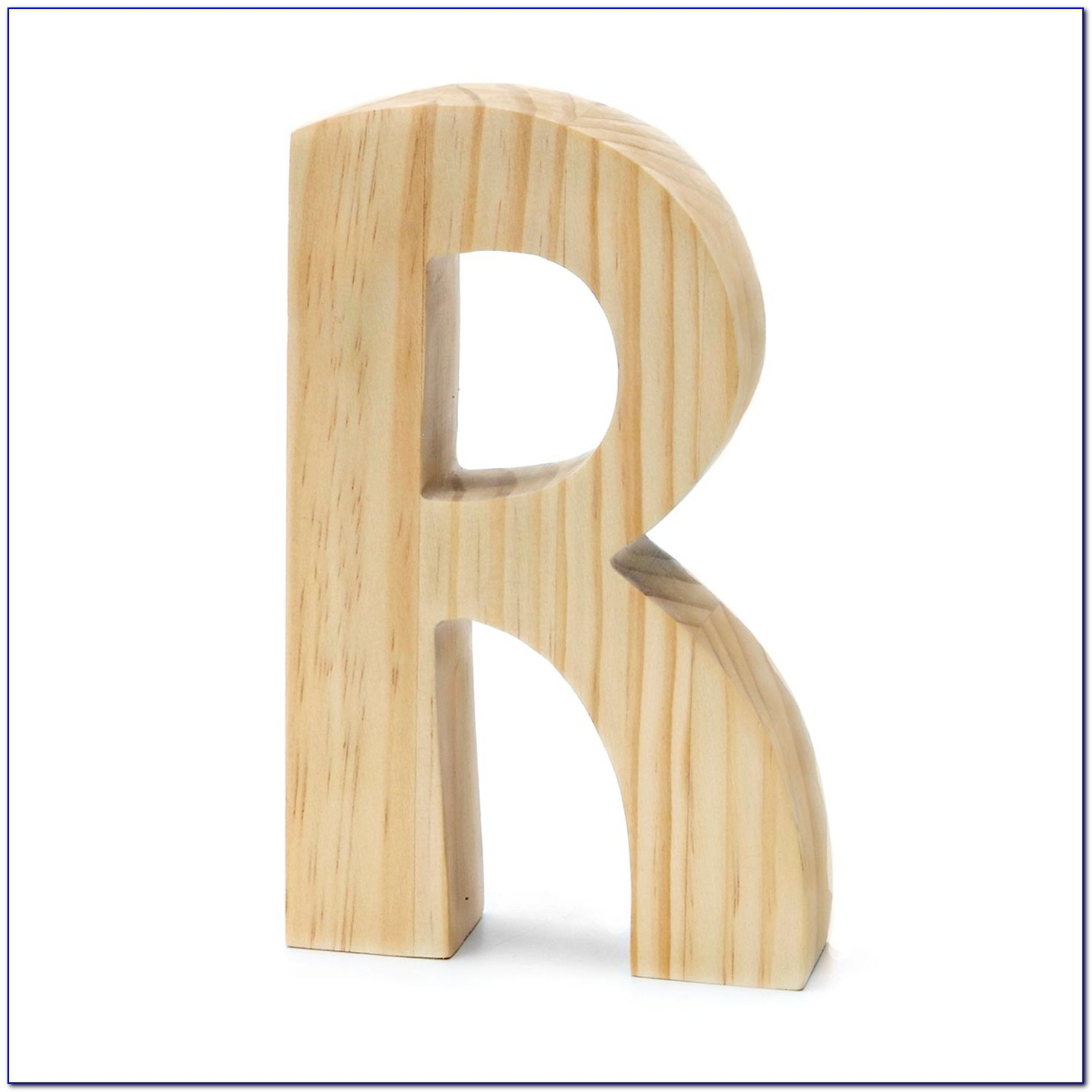 Unfinished Wood Letters 12 Inch