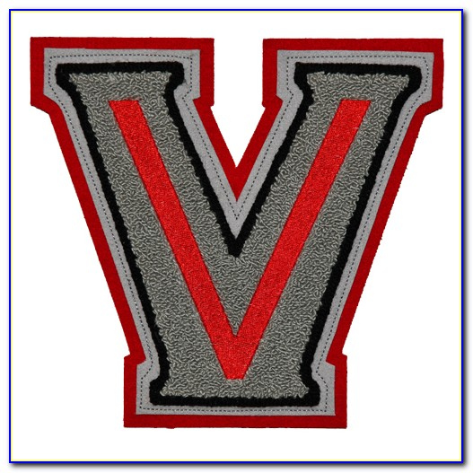 Varsity Letter Patches Meaning