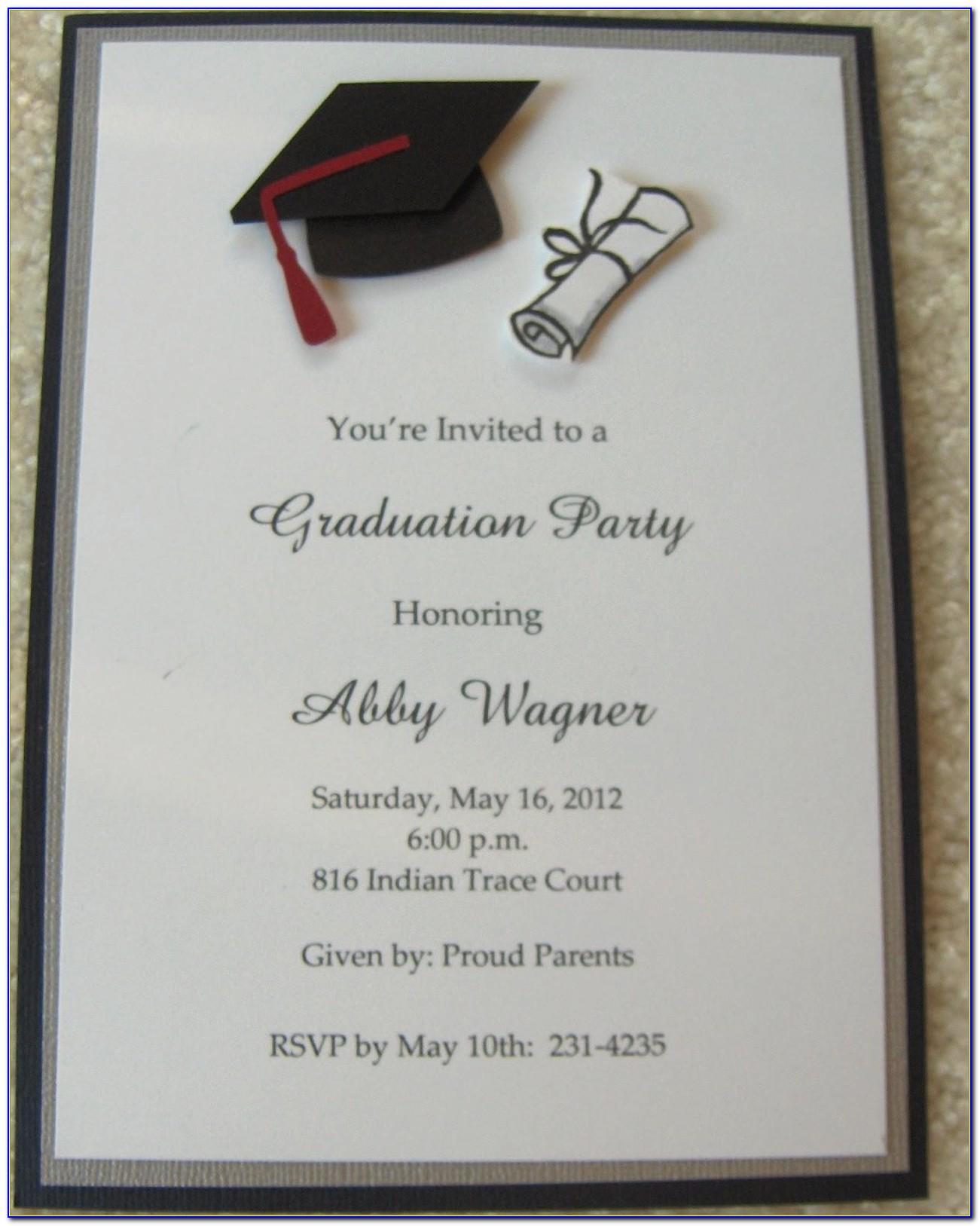 Vistaprint High School Graduation Announcements