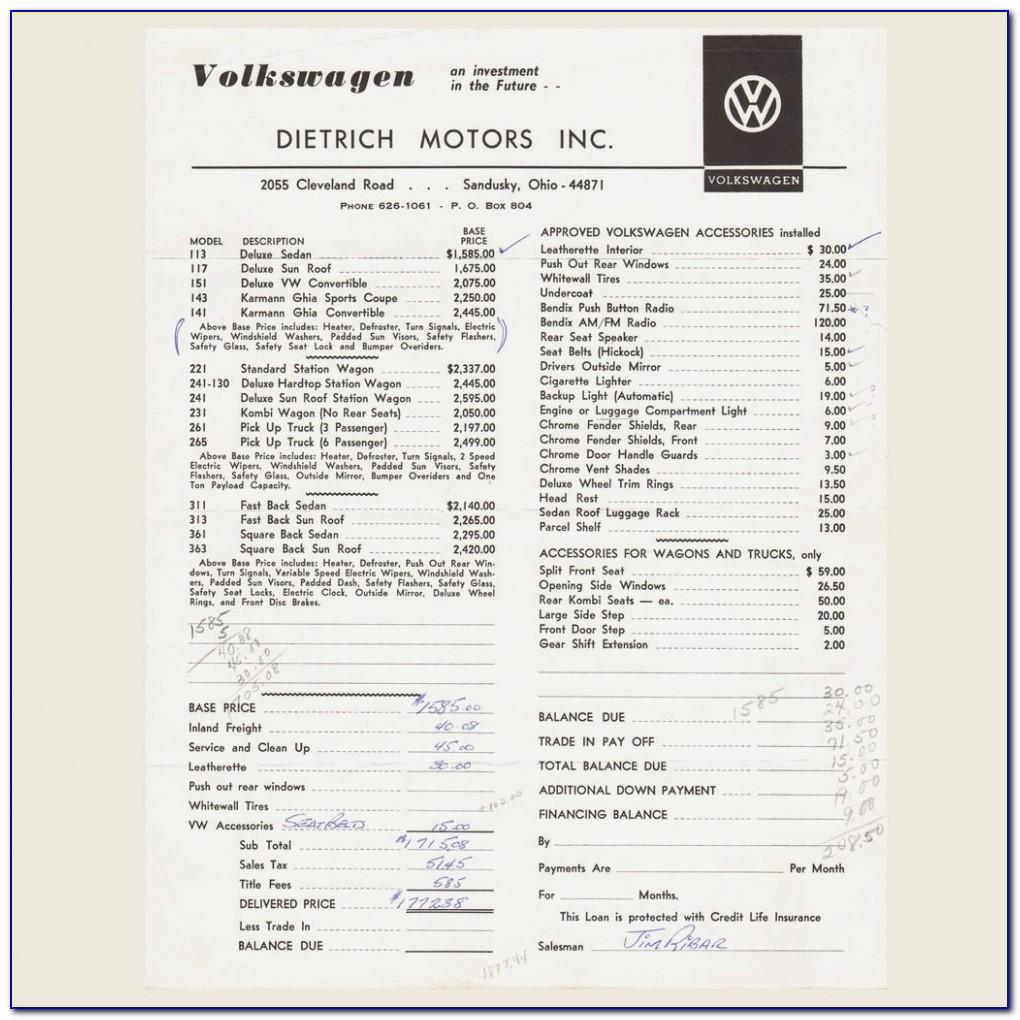 Volkswagen Tiguan Dealer Invoice Price