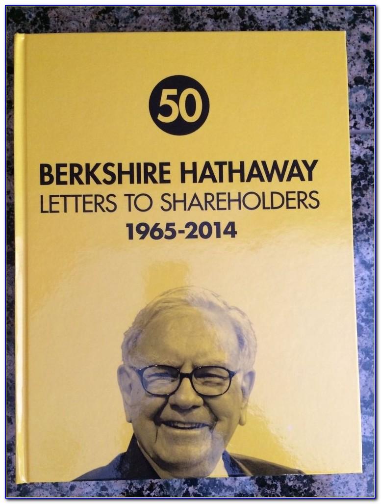 Warren Buffett Letter To Shareholders 2019