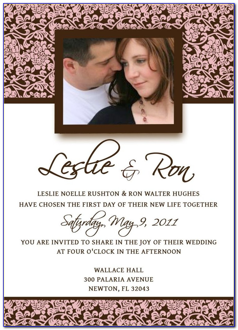 Wedding Announcement Cards For Free
