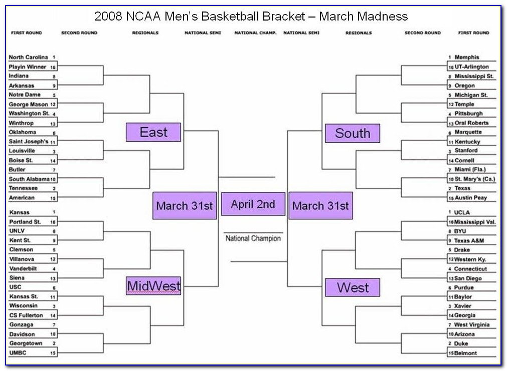 When Are Ncaa March Madness Brackets Announced
