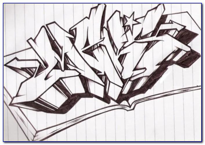 Wildstyle Graffiti Letter E