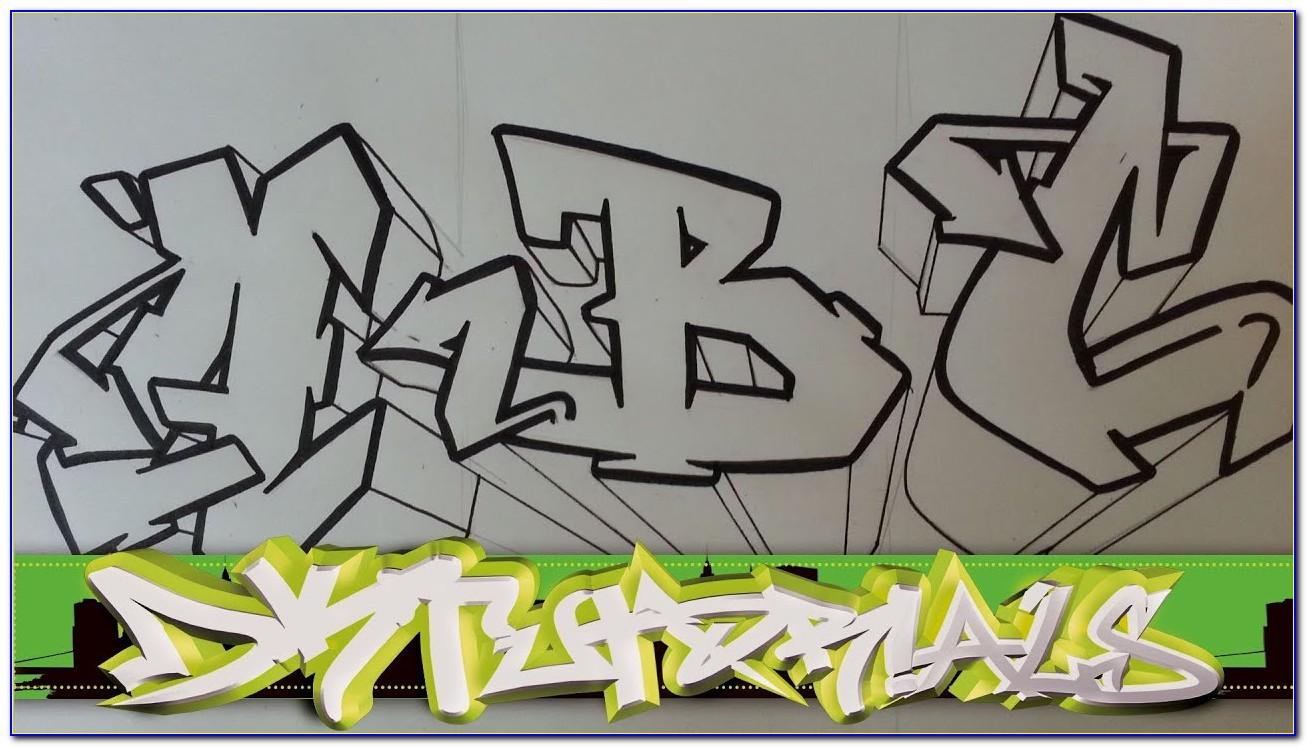 Wildstyle Graffiti Letters A Z