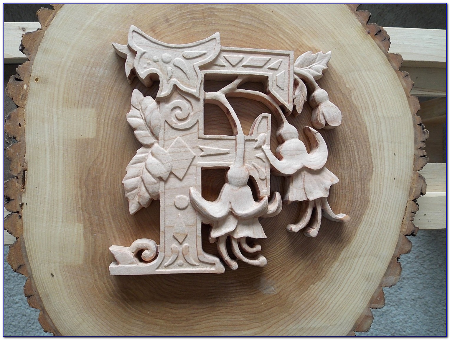 Wood Letters Wall Decor