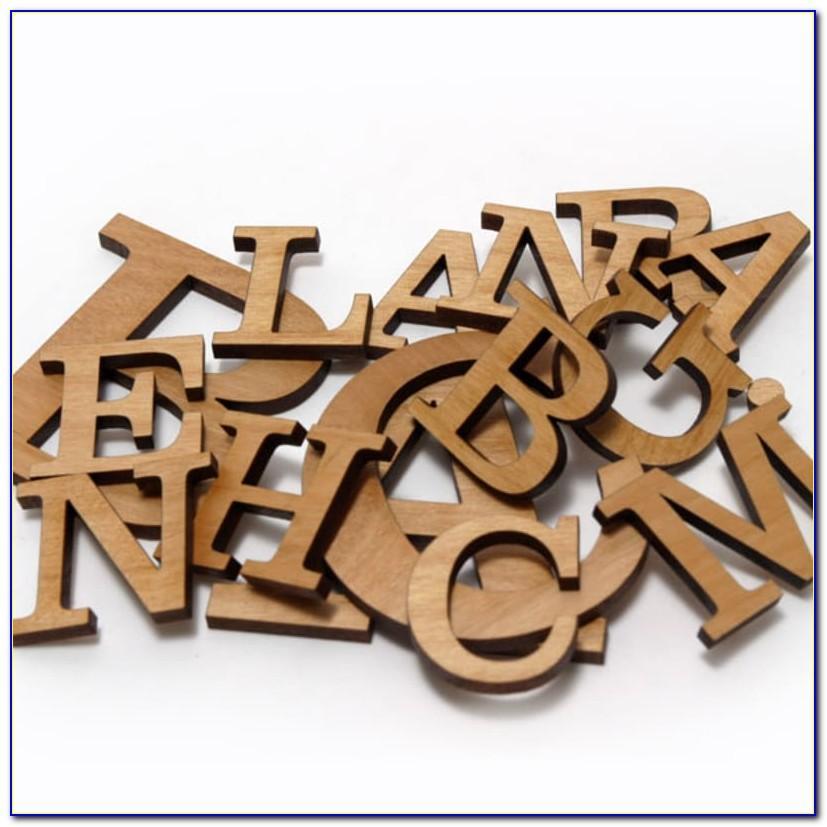 Wooden Letter Magnet Train