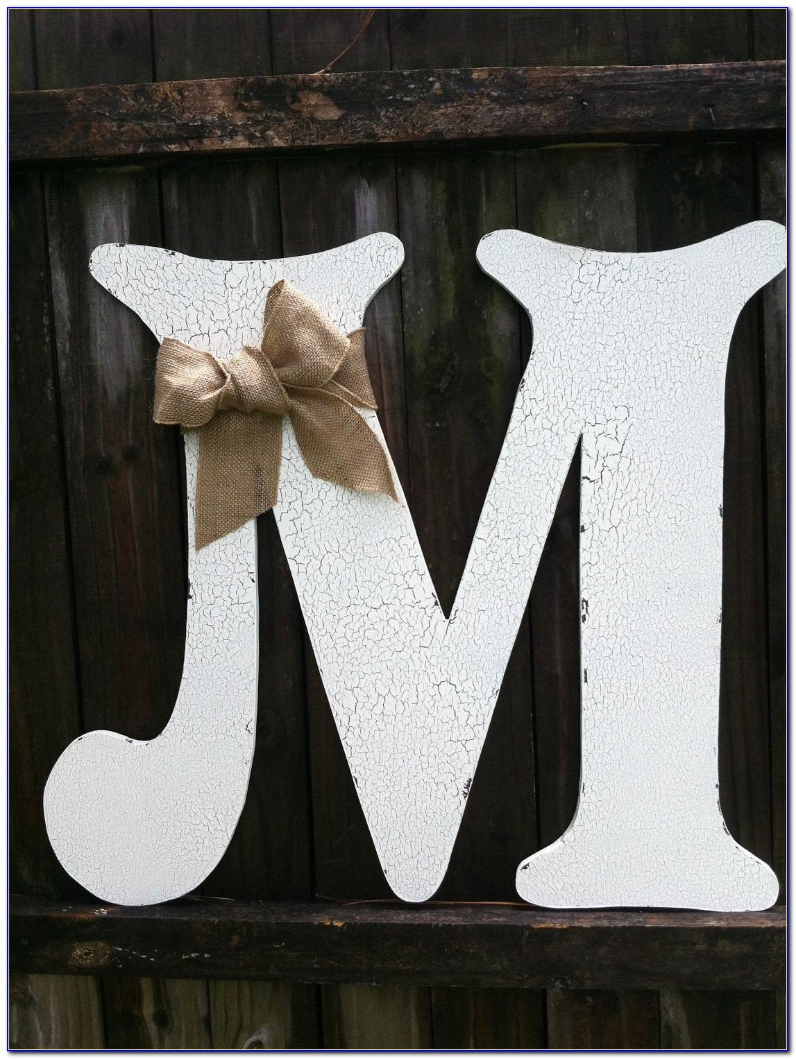Wooden Letter Magnetswooden Letter Magnets