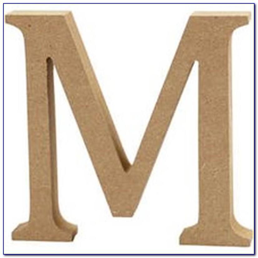 Wooden Letter Michaels