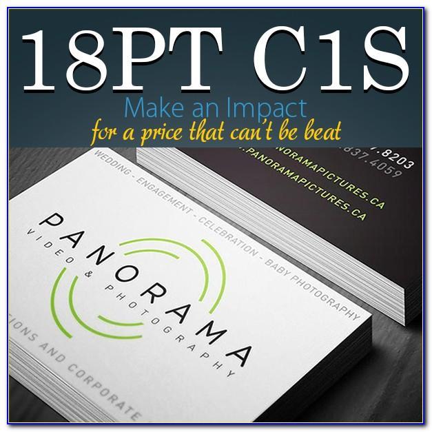16pt Vs 18pt Business Cards