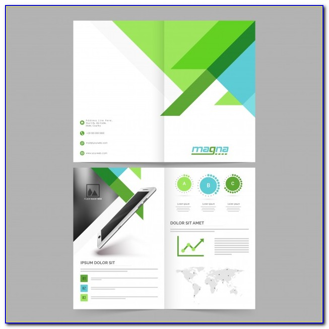 2 Pages Brochure Template