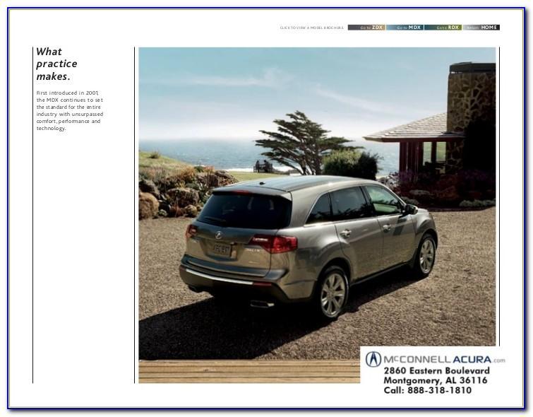 2011 Acura Mdx Brochure